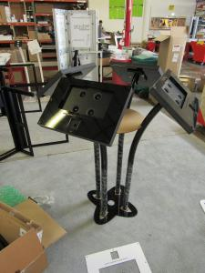 Customized MOD-1333M and MOD-1338M Tablet Stands for HP Laptops